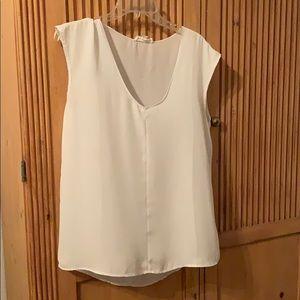 Tops - Grayish-white blouse